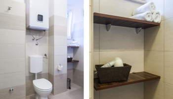 Bathrom in Zadar center apartments